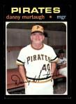 1971 Topps #437  Danny Murtaugh  Front Thumbnail