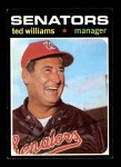 1971 Topps #380  Ted Williams  Front Thumbnail
