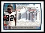 1999 Topps #168  Michael Bates  Back Thumbnail