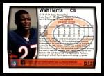 1999 Topps #213  Walt Harris  Back Thumbnail