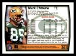 1999 Topps #261  Mark Chmura  Back Thumbnail