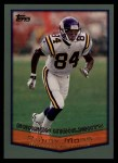 1999 Topps #318   -  Randy Moss Season Highlights Front Thumbnail