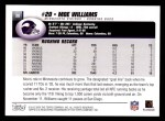 2004 Topps #38  Moe Williams  Back Thumbnail