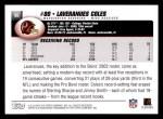 2004 Topps #95  Laveranues Coles  Back Thumbnail