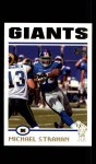 2004 Topps #141  Michael Strahan  Front Thumbnail
