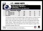2004 Topps #363  Darius Watts  Back Thumbnail