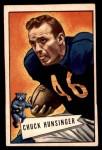 1952 Bowman Small #7  Chuck Hunsinger  Front Thumbnail