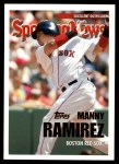 2005 Topps Update #153   -  Manny Ramirez All-Star Front Thumbnail