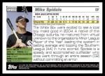 2005 Topps Update #253  Mike Spidale   Back Thumbnail