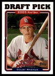 2005 Topps Update #320  Colby Rasmus  Front Thumbnail