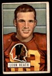 1951 Bowman #106  Leon Heath  Front Thumbnail