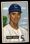 1951 Bowman #123  Howie Judson  Front Thumbnail