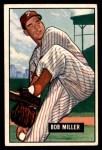 1951 Bowman #220  Bob Miller  Front Thumbnail