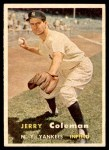 1957 Topps #192  Jerry Coleman  Front Thumbnail
