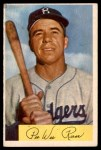 1954 Bowman #58  Pee Wee Reese  Front Thumbnail