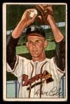 1952 Bowman #132  Dave Cole  Front Thumbnail