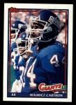 1991 Topps #27  Maurice Carthon  Front Thumbnail