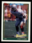1991 Topps #439  Vinnie Clark  Front Thumbnail