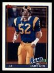 1991 Topps #538  Larry Kelm  Front Thumbnail