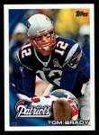 2010 Topps #30  Tom Brady  Front Thumbnail