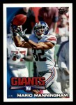2010 Topps #39  Mario Manningham  Front Thumbnail