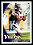 2010 Topps #239  Percy Harvin  Front Thumbnail