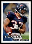 2010 Topps #262  Arian Foster  Front Thumbnail