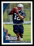 2010 Topps #295  Devin McCourty  Front Thumbnail