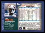 2000 Topps #49  Tony Martin  Back Thumbnail