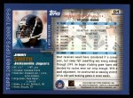 2000 Topps #84  Jimmy Smith  Back Thumbnail