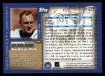 2000 Topps #258  Cameron Cleeland  Back Thumbnail