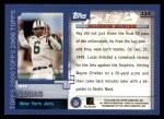 2000 Topps #334   -  Ray Lucas Millennium Milestones Back Thumbnail