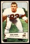 1954 Bowman #4  Doug Atkins  Front Thumbnail