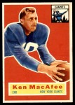 1956 Topps #65  Ken MacAfee  Front Thumbnail