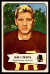 1954 Bowman #3  Jack Scarbath  Front Thumbnail