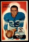 1955 Bowman #103  Carl Taseff  Front Thumbnail