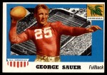 1955 Topps #31  George Sauer  Front Thumbnail