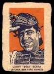 1952 Wheaties #1 AC Yogi Berra  Front Thumbnail