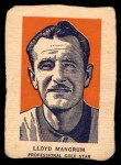 1952 Wheaties #5 POR Lloyd Mangrum  Front Thumbnail