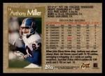 1996 Topps #16  Anthony Miller  Back Thumbnail