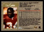 1996 Topps #34  Dale Carter  Back Thumbnail