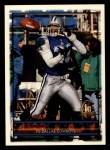 1996 Topps #166  Brock Marion  Front Thumbnail