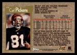 1996 Topps #195  Carl Pickens  Back Thumbnail