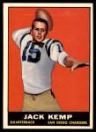 1961 Topps #166  Jack Kemp  Front Thumbnail