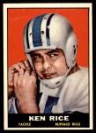 1961 Topps #162  Ken Rice  Front Thumbnail