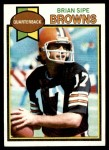 1979 Topps #353  Brian Sipe  Front Thumbnail