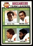 1979 Topps #526   Buccaneers Leaders Checklist Front Thumbnail