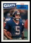 1987 Topps #20  Sean Landeta  Front Thumbnail
