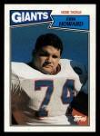 1987 Topps #29  Erik Howard  Front Thumbnail