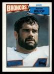 1987 Topps #37  Keith Bishop  Front Thumbnail